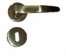 Дръжки M30 P.A.F. разделни месинг с розетки за обикновена брава