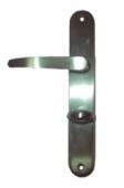 Дръжки M30 P.A.F. за WC 90mm, никел-сатен