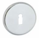 Розетки LOB MT03 за обикновена брава, никел
