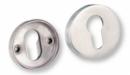 Розетка LINCE BR3 за секретна брава, кръгла/1 брой/, INOX