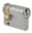 Секретна ключалка LOB WJ54 едностранен 30/9mm, никел