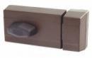 Брава допълнителна LOB TD01 60mm с врътка и никелирана секретна