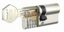 Двустранен патрон GEGE System pExtra 40/60, с ламела, никел 4 кл