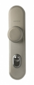 Дръжка и топка GERDA TD 1000 секретни 90 mm, никел сатен