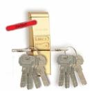 Протектор LINCE за секретна ключалка, месинг