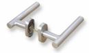 Комплект дръжки с овална розетка LINCE MROT3 - INOX