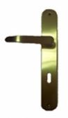 Дръжки за обикновена брава M30 P.A.F. 70mm, месинг