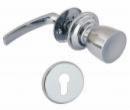 Дръжка и топка LOB MP2102 с розетки за секретна брава