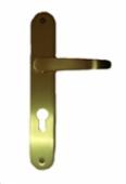 Дръжки за секретна брава M30 P.A.F. 70mm, месинг-сатен