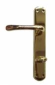 Дръжки за WC SABA 100P.A.F. 70 mm, месинг