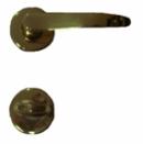Дръжки разделни и розетки M30 P.A.F. за WC, месинг
