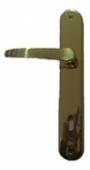 Дръжки за обикновена брава M30 P.A.F. 90mm, месинг