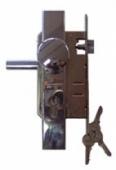 Комплект LOB Z76B-KU1 брава, секретна ключалка, дръжка топка
