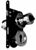 Комплект L304 брава+секретна ключалка+топки с заключване, десен
