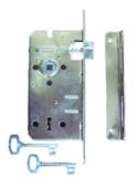 Брава обокновена LOB 72/50mm, никел
